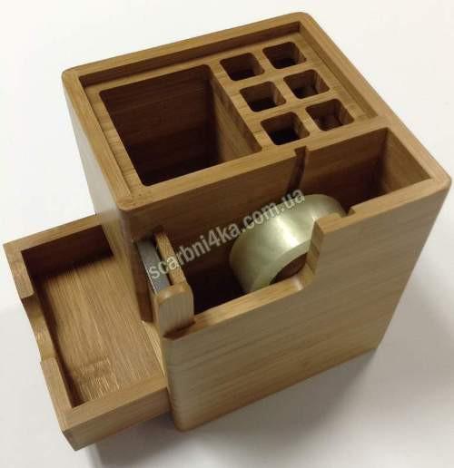 """Настольная подставка """"Cabinet"""" бамбук 36103"""