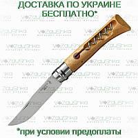Opinel Tire Bouchon 10 Inox, складной нож со штопором (001410)