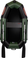 Одноместная надувная ПВХ лодка Vulkan V190 L(ps)