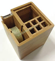 "Настольная подставка ""Cabinet"" бамбук 36103, фото 3"