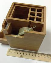 "Настольная подставка ""Cabinet"" бамбук 36103, фото 2"