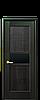 Дверь межкомнатная РИФМА С ЧЕРНЫМ СТЕКЛОМ, фото 2