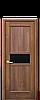 Дверь межкомнатная РИФМА С ЧЕРНЫМ СТЕКЛОМ, фото 3