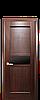 Дверь межкомнатная РИФМА С ЧЕРНЫМ СТЕКЛОМ, фото 4