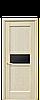 Дверь межкомнатная РИФМА С ЧЕРНЫМ СТЕКЛОМ, фото 5