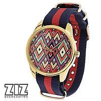 Часы тканевые Ромбы. Арт. ZIZ-1715634