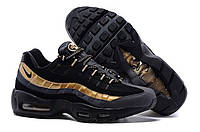 "Кроссовки Nike Air Max 95 ""Black/Dark Grey/Gold"", фото 1"