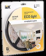 Лента светодиодная LED 5м блистер LSR-3528WW60-4.8-IP65-12V IEK-eco (LSR1-1-060-65-1-05)