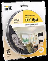 Лента светодиодная LED 5м блистер LSR-3528WW120-9.6-IP20-12V IEK-eco (LSR1-1-120-20-1-05)