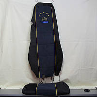 Чехол на сидение IVECO STRALIS (синий, вельвет)