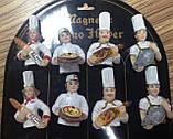 Магнит- статуэтка для холодильника,  Шеф-повар, полистоун/металл, Сувениры, Днепропетровск, фото 3