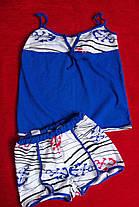 Пижама летняя в полоску с якорями, фото 3