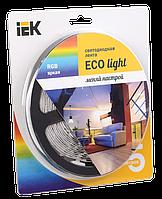Лента светодиодная LED 5м блистер LSR-3528RGB54-4.8-IP20-12V IEK-eco