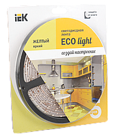 Лента светодиодная LED 5м блистер LSR-3528Y60-4.8-IP65-12V IEK-eco