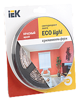 Лента светодиодная LED 5м блистер LSR-3528R60-4.8-IP20-12V IEK-eco