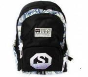 Ранец-рюкзак на 2 відд., 43*30*17 см, 900D PL, чорний SAFARY