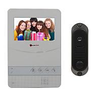 Комплект цветного монитора(видеодомофона) и вызывной панели PC-431+DVC-4Q