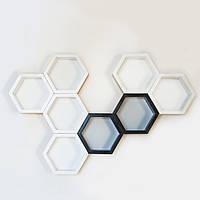 Настенная композиция Hexagon