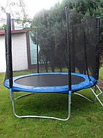 Батут спортивный для детей Funfit диаметром 183см (6ft) с внешней сеткой