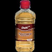 """Грунтовка деревозащитная TM """"Delfi"""" (бесцветная) 0,5 л"""