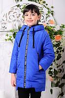 Куртка для девочек Вилена - электрик: 32,34