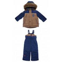 Комплект зимний: комбинезон + курточка на овчине Garden Baby