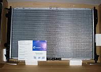 Радиатор охлаждения Ланос 1,5-1,6 с кондиционером ЛУЗАР (алюминиевый паяный)