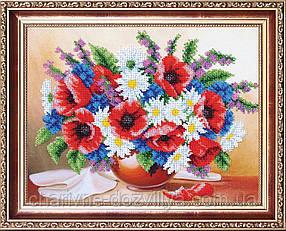 """Набор для вышивания бисером (цветы) """"Шарм. Ассорти"""""""