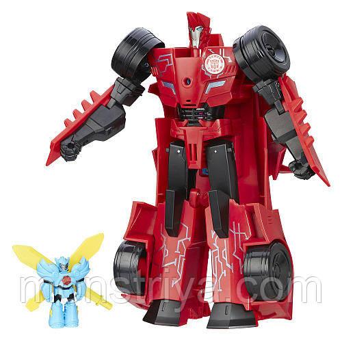Трансформер Сайдсвайп  Роботы под Прикрытием Transformers Robots in Disguise