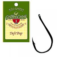 Крючок одинарный Golden Catch Deft Trap №1 (12шт)