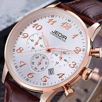Кварцевые мужские часы Jedir President White