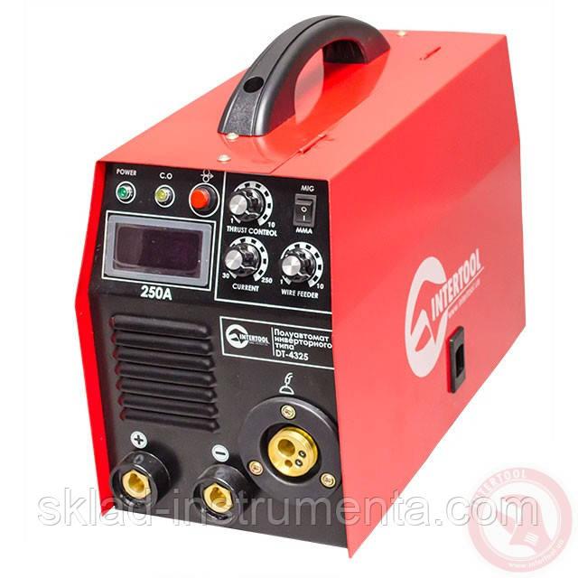 Полуавтомат сварочный инверторного типа комбинированный 7,1 кВт, 30-250 А., проволока 0,6-1,2 мм., электрод 1,