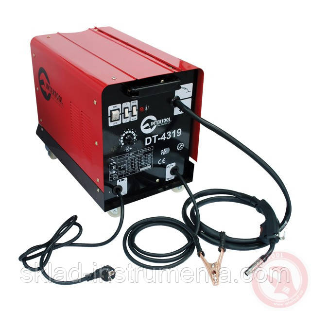 Сварочный полуавтомат 230 В, 7,5 кВт, 40-180 А, диаметр проволоки 0,6-0,8 мм