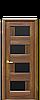Дверь межкомнатная СИЕНА С ЧЕРНЫМ СТЕКЛОМ, фото 4