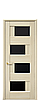 Дверь межкомнатная СИЕНА С ЧЕРНЫМ СТЕКЛОМ, фото 6