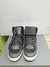 Кроссовки мужские кожаные темно-серого цвета высокие демисезонные Antony Morato, фото 3