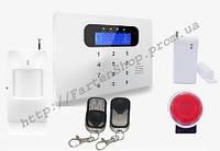 Комплект беспроводной сигнализации Alarm GSM G23(металлический пульт)