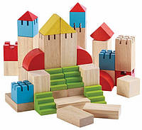 Деревянный конструктор блоки Plan Тoys