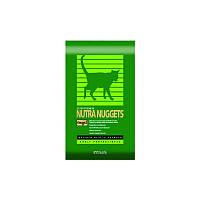 Корм для кошек Нутра Наггетс зеленая индор хайрбол 18,14кг