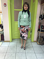 Женская куртка - пуховик короткая Rinascimento