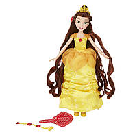 Кукла Disney Long Locks Belle (Длинные локоны Бель), hasbro