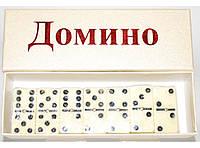 Домино в картонной коробке i5-38, настольная игра домино