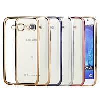 Чехол силиконовый прозрачный на Samsung J200 Galaxy J2