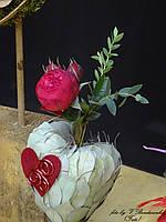 """Флористичний посуд для квітів. """"Серце"""""""