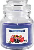 Ароматическая свеча BISPOL в стеклянном стакане с крышкой №SND71-13 - Лесные ягоды