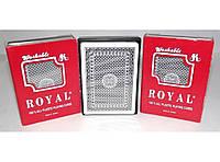 Пластиковые карты Royal i5-24, игральные карты royal
