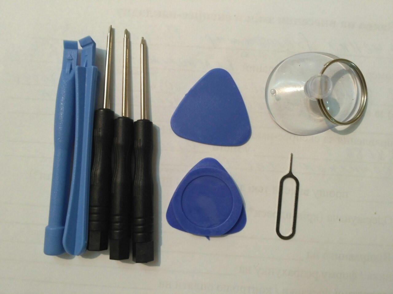 Набор инструментов для замены дисплея.