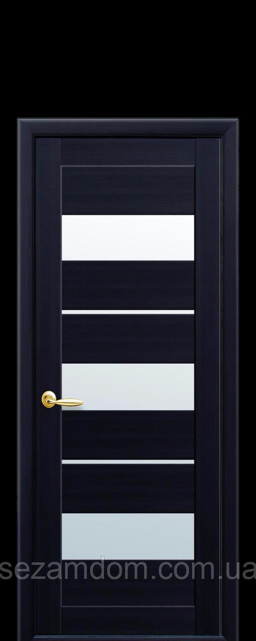 Дверь межкомнатная ЛИЛУ СО СТЕКЛОМ САТИН