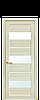 Дверь межкомнатная ЛИЛУ СО СТЕКЛОМ САТИН, фото 2