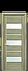 Дверь межкомнатная ЛИЛУ СО СТЕКЛОМ САТИН, фото 4